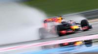 Daniel Riccirado při testech pneumatik do deště na trati Paul Ricard