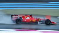 Kimi Raikkonen první den testů v Paul Ricard 2016