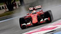 Sebastian Vettel druhý den testů v Paul Ricard 2016