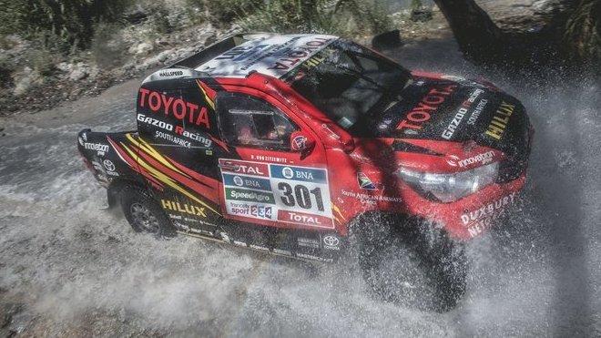 Tovární Toyota bude i letos sázet na techniku 4x4