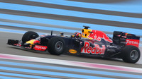 Daniil Kvjat druhé den testů v Paul Ricard 2016