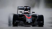 Stoffel Vandoorne s McLarenem