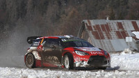 Lefebvre má s DS3 WRC na sněhu zkušenosti jenom z testu