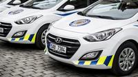 nové policejní vozy Hyundai i30