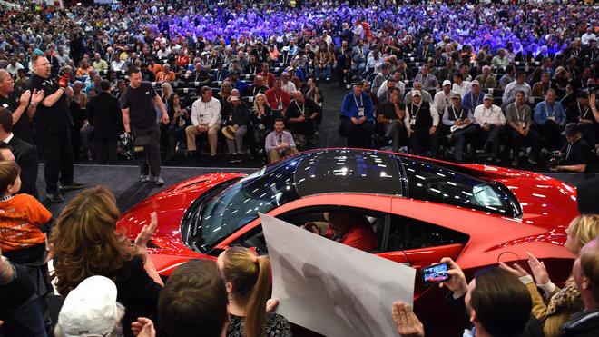 První vydražená Acura NSX