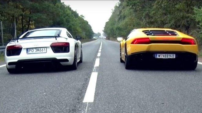 Audi R8 versus Lamborghini Huracán LP 610-4