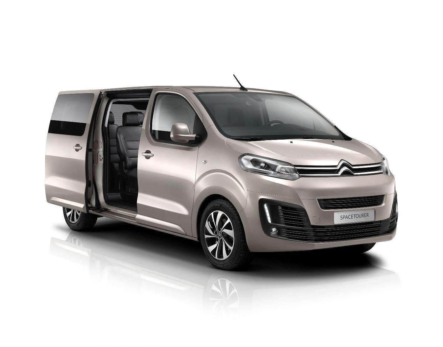 Citroën SpaceTourer do detailu, Multivanu přibývá nová konkurence - anotační foto