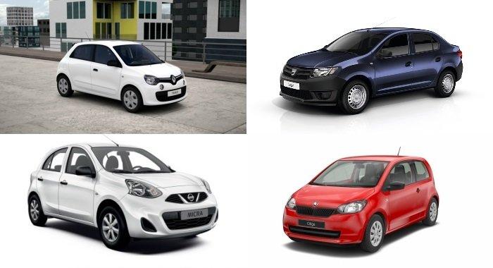 PŘEHLED: Deset nejlevnějších automobilů v Česku (a jejich reálná podoba) - anotační foto