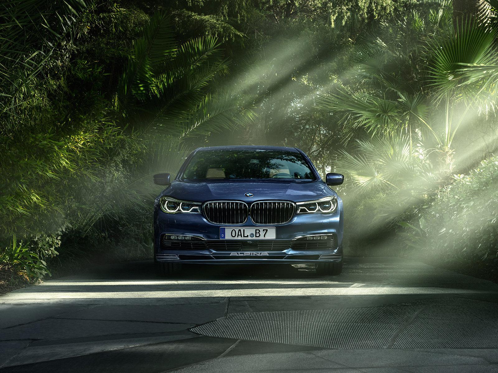 Nejrychlejší BMW řady 7 je na světě, opět nosí logo Alpina a označení B7 Bi-Turbo - anotační foto