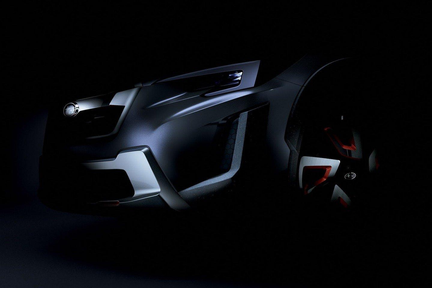 Subaru se chystá v Ženevě odhalit nový koncept crossoveru XV - anotační foto