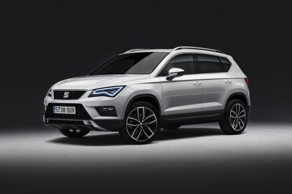 První SUV Seatu má jméno Ateca, vyrábět se bude v Čechách - anotační foto