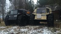 Sherp je nejnovějším ruským strojem, schopným jezdit na souši i plout po vodě.