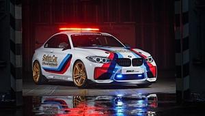 BMW odhaluje safety car pro nadcházející sezónu MotoGP - anotační obrázek