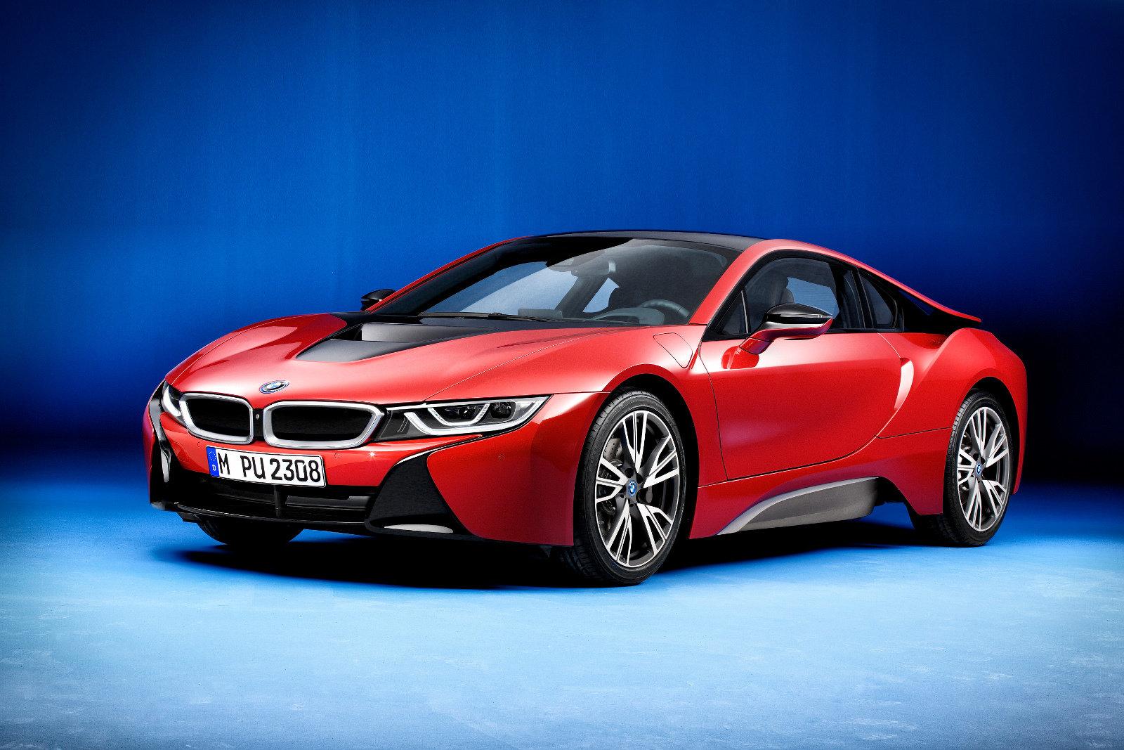 V Ženevě se ukáže speciální edice BMW i8 Protonic Red - anotační foto