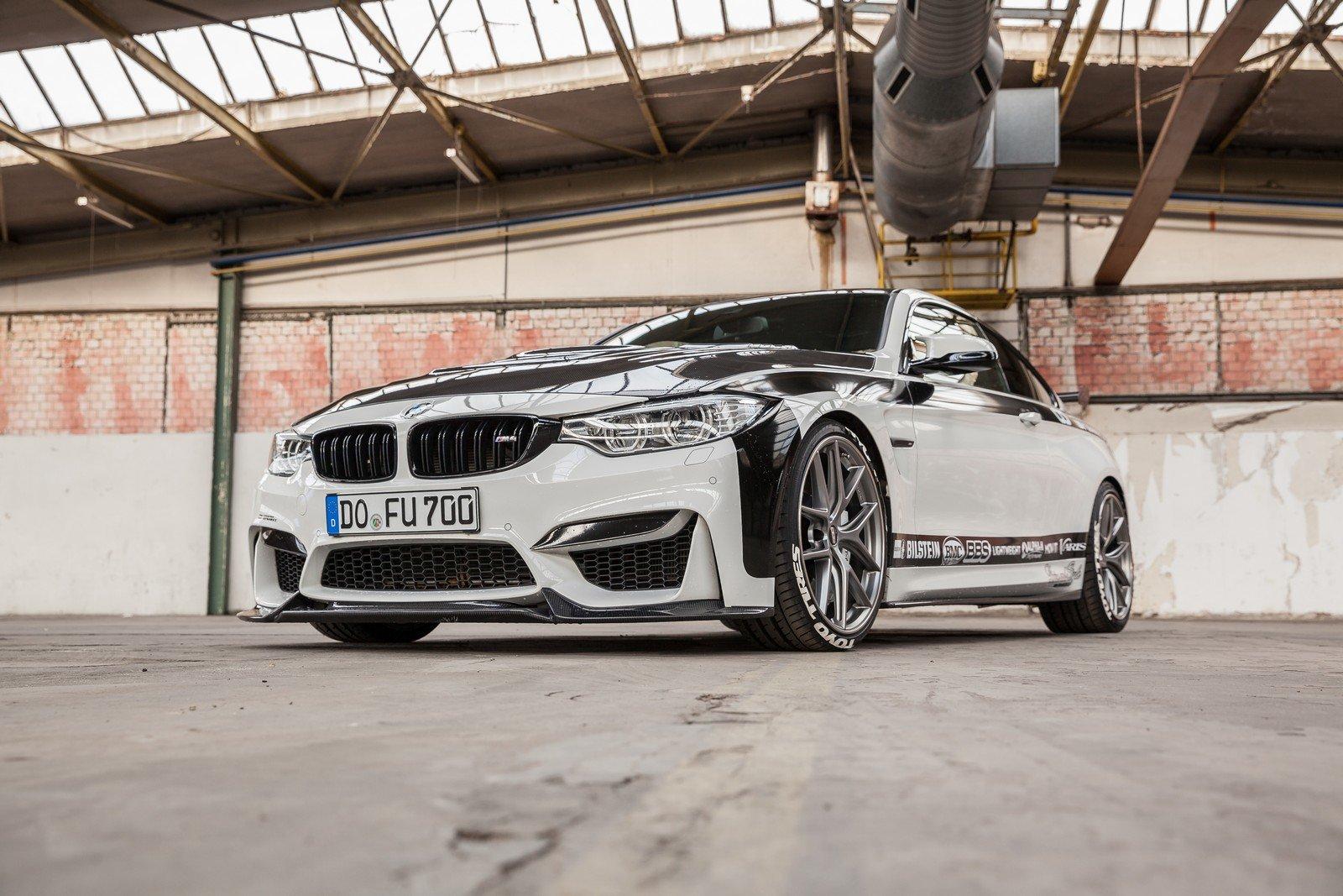 BMW M4 v karbonovém hávu dostala 700 koní - anotační foto