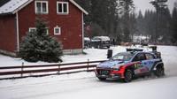Paddon předvedl ve Švédsku skvělý výkon