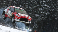 Craig Breen na trati Rally Sweden 2016
