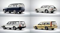 Volvo za více než šedesát let vyrobilo přes šest milionů kombíků.