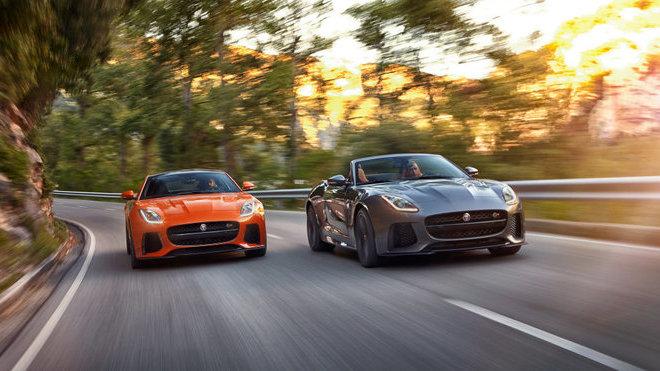 Jaguar F-Type SVR & F-Type Convertible SVR
