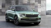 Škoda VisionS má po premiéře, je šestimístným plug-in hybridním SUV.