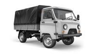 UAZ Classic jako valník s jednoduchou kabinou.