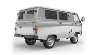 UAZ Classic jako dvoumístný furgon.