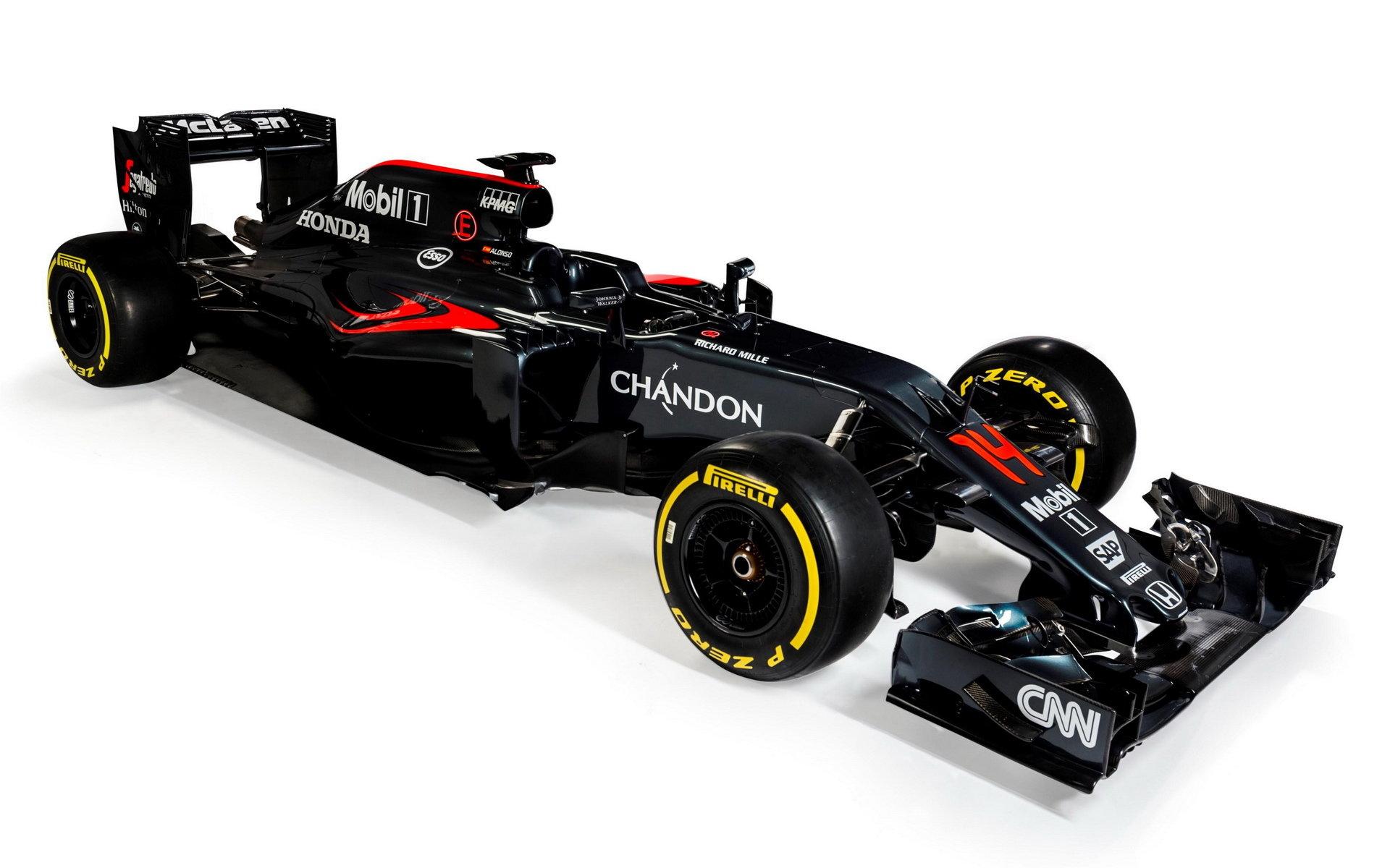 Zbarvení McLarenu MP4-31 ze sezóny 2016