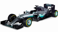 Nový vůz týmu Mercedes: Mercedes F1 W07 Hybrid