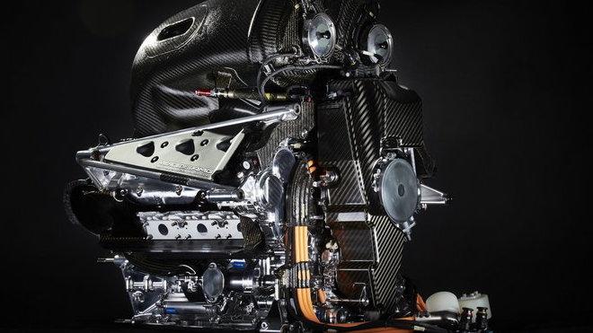 Pohonná jednotka Mercedesu