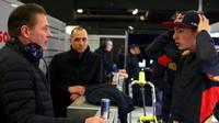 Max Verstappen se svým otcem Josem Verstappenem