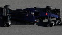 Carlos Sainz třetí den testů v Barceloně s Toro Rosso STR11