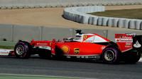 Kimi Räikkönen s Ultra měkkými pneumatikami v Barceloně