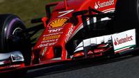 Přední křídlo vozu Ferrari SF16-H