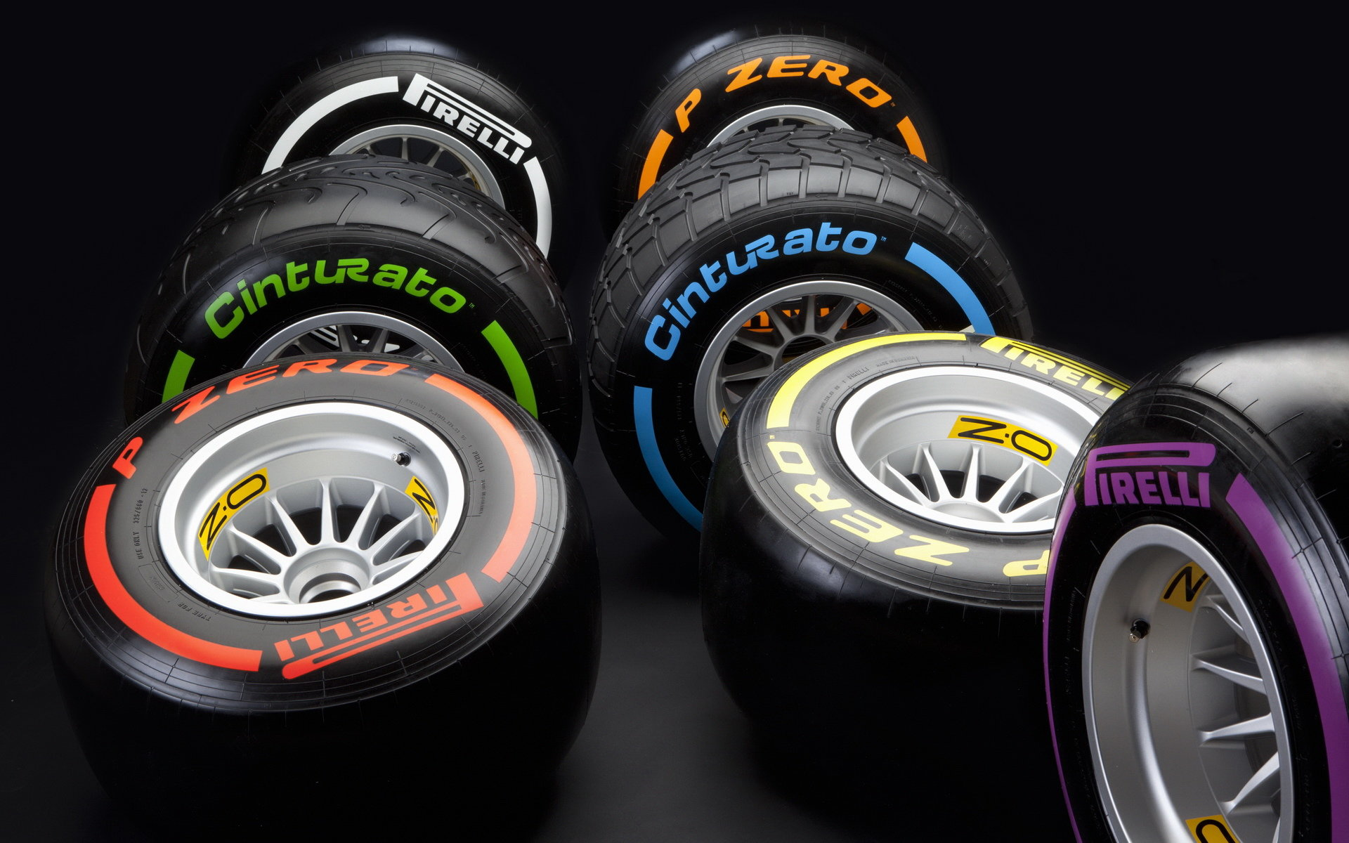 Jaké pneumatiky si piloti vybrali pro Silverstone? Force India nejopatrnější - anotační foto