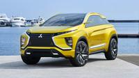 Mitsubishi eX má dva elektromotory s celkovým výkonem 190 koní.