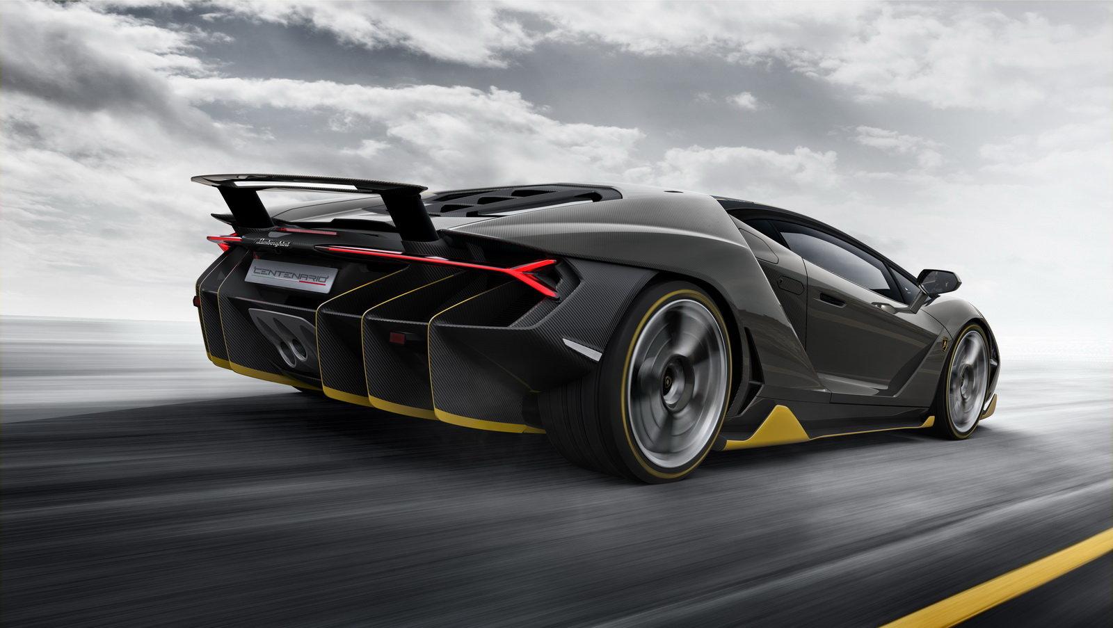 Centenario je nejnovějším speciálem Lamborghini, vznikne jen čtyřicet kusů.