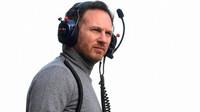 Šéf závodního týmu Red Bullu, Christian Horner