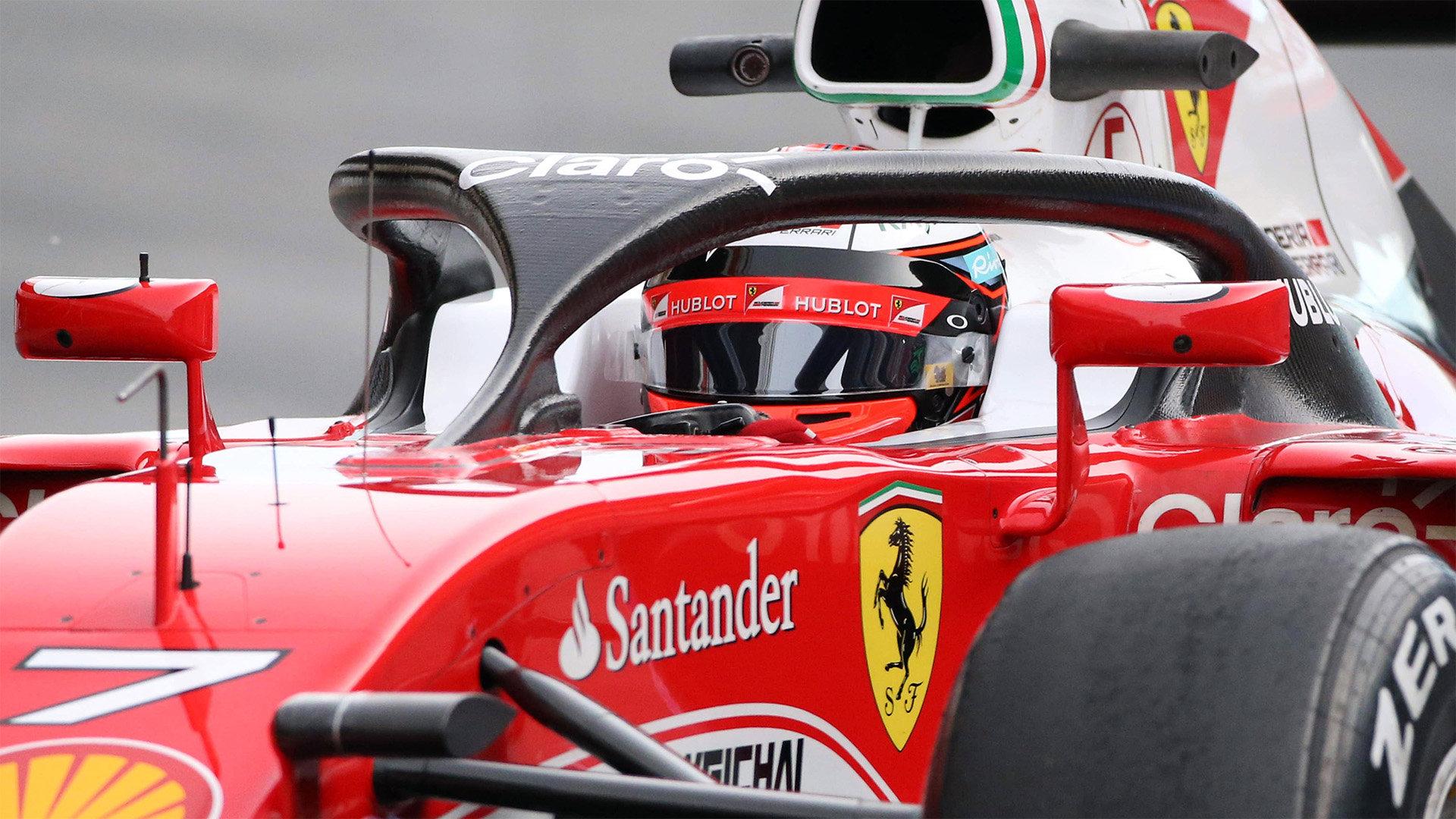 Formule 1 se pro rok 2017 přiklonila k Halo konceptu - anotační foto