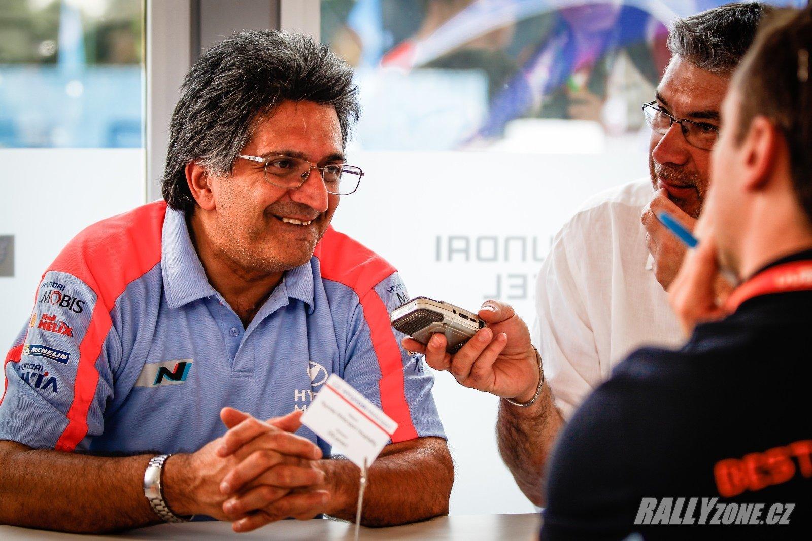 Michel Nandan v pozici šéfa týmu Hyundai Motorsport skončil