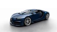 Bugatti Chiron a barevné kombinace laku