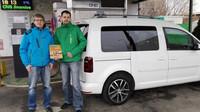 Volkswagen Caddy TGI a nový rekord
