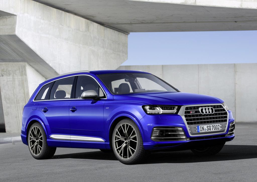 Úsporný obr se sportovními ambicemi i u nás, Audi SQ7 začíná na 2,5 milionech - anotační foto