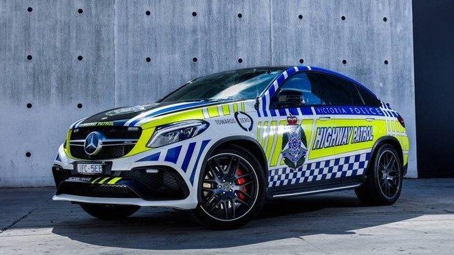 Policejní Mercedes-Benz GLE