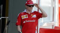 Kimi Räikkönen v Melbourne