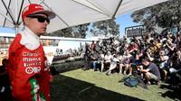 Focení pilotů týmu Ferrari, Kimi Räikkönen v Melbourne