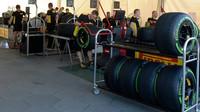 Příprava pneumatik v Melbourne