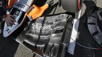 Přední křídlo vozu Force India   Force India VJM09 - Mercedes v Melbourne