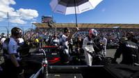 Jenson Button se připravuje na závodě v Melbourne