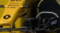 Přední křídlo vozu Renault RS 16 v Melbourne