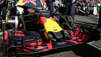 Přední křídlo vozu Red Bull  v Melbourne